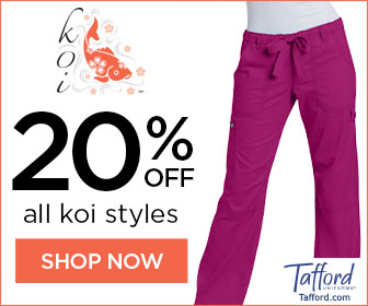 KOI Scrubs Sale!! Hurry 20% Off @ Tafford.com