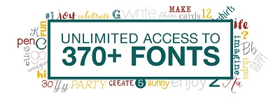 free fonts for Cricut Access members AD banner