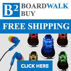 Free Shipping: Boardwalk Buy Coupon Code
