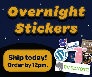 Overnight Stickers Affiliate Program