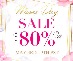 Up To 80% off, from $3.99, Buy 3 get extra 15% off, Buy 5 get extra 20% off