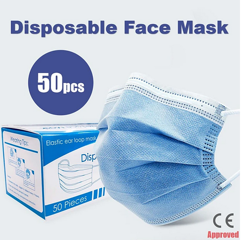 Disposable Face Masks/KN95 masks/Disposable Gloves. Limited Time for FREE Shipping.