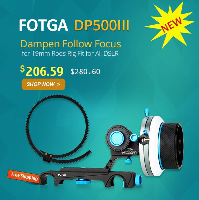 Fotga DP500III Follow Focus DSLR