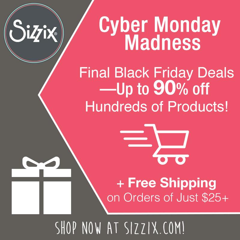 Sizzix cyber monday madness