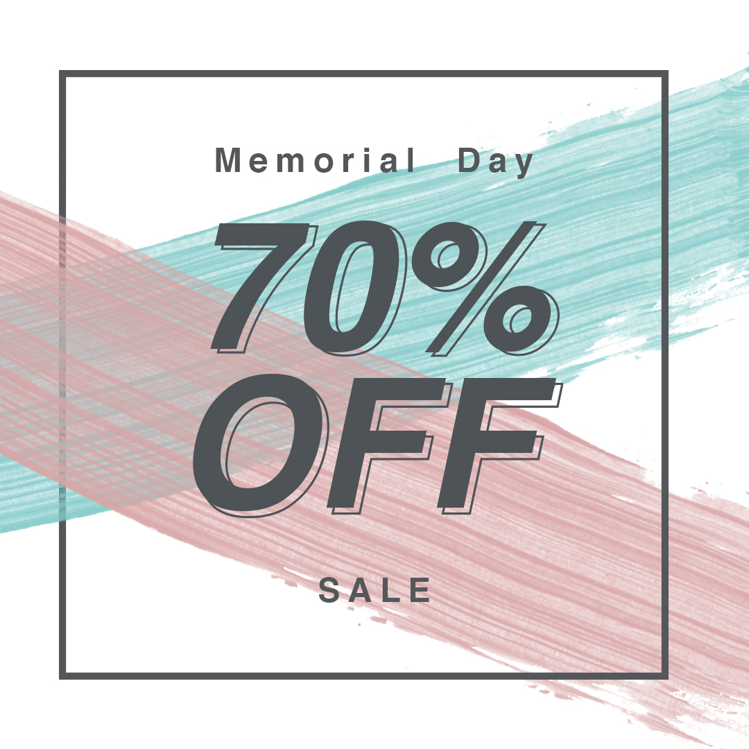 Up to 70%* off