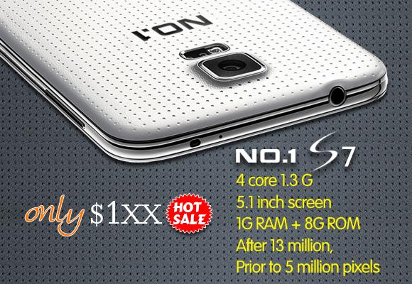 NO.1 s7 quad core clone phone