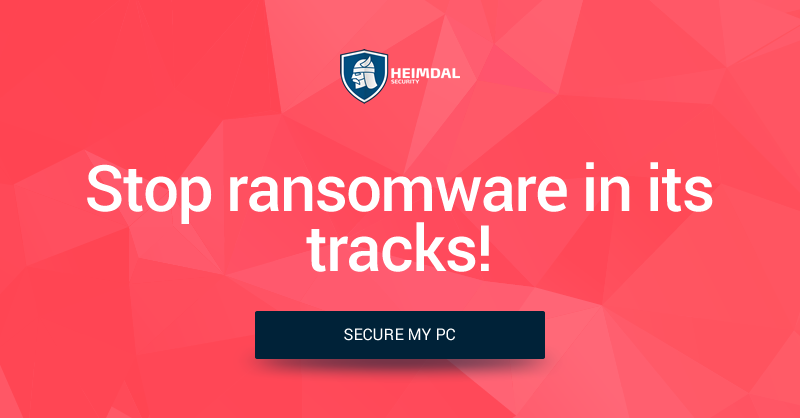 Stop ransomware in its tracks!