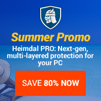 20% OFF for HEIMDAL PRO Family Edition (license for 1 year, 4 PCs)