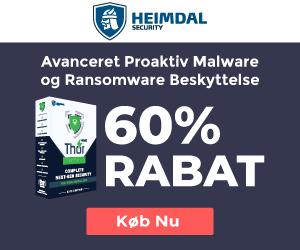 Hold Ransomware ude, med Heimdal PRO!