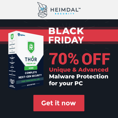 Keep Ransomware Out with Heimdal PRO!