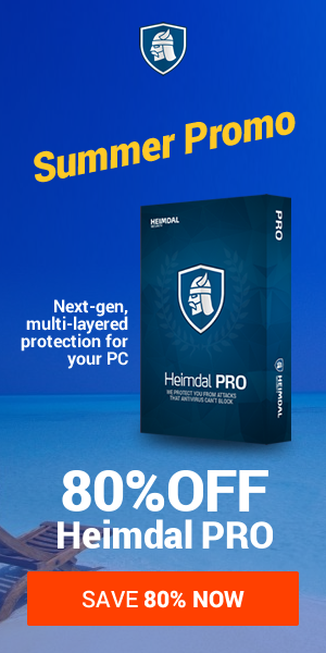 70% off Heimdal PRO: Anti-malware protection made simple