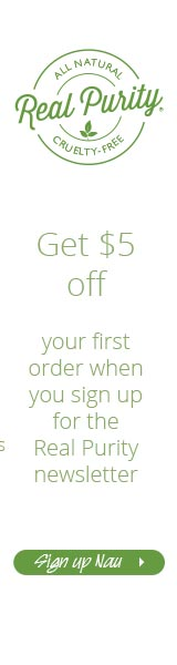 Sign up for the Real Purity newsletter and get $5 off your first order!