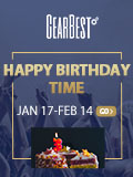 Win free products with your epic video to celebrate birthday wishes to gearbest, share and review to win coupons!