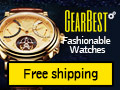 Get Free Shipping on Fashionable Watches at GearBest.com! Exquisite Designs Just for You!