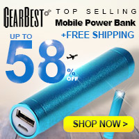 Catch This Golden Chance to Get Free Shipping on Convenient Mobile Chargers and Power Banks!