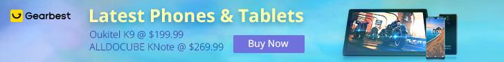 Latest Phones & Tablet Sales: Cubot 10% OFF 2 PCs