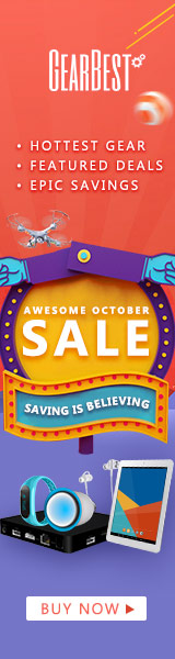 GearBest Hottest Gear October Flash Sale: Up to 67% OFF