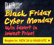Gearbest Black Friday and Cyber Monday deals!