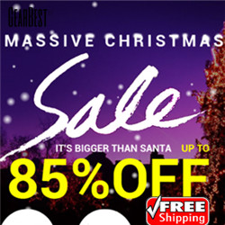 Massive Christmas Sales: UP to 85% OFF + Free Shipping for Coolest Gifts!
