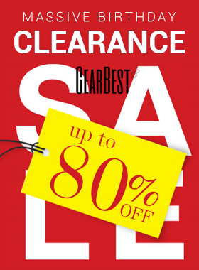 Clearance Sales: UP to 80% OFF + Free Shipping