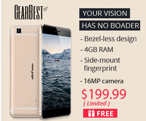 Ulefone Future Smartphone Promotion