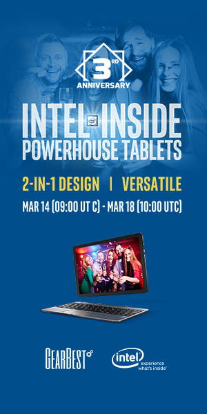 GB 3rd Anniversary: Intel Inside Tablet Promotion