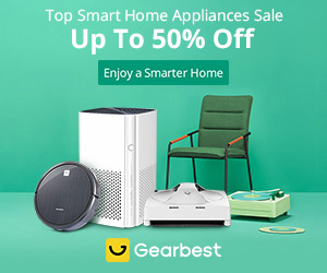 Up to 50% OFF for Smart Home Appliances Sale