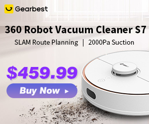 """$399.99 Coupon """"GB-360S7"""" for 360 S7 Clearner"""
