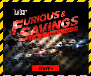 Furious & Savings: Grab High Performance Car Gear and Outing Essentials @GearBest!