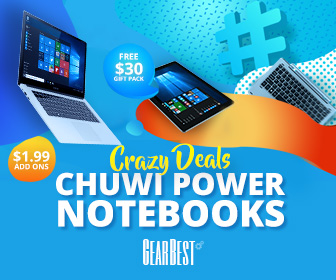 Chuwi Notebook Sale: Grab Free Gift Pack and Quality Products