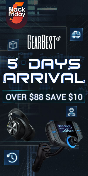 5 Days Arrival: $10 OFF Over $88