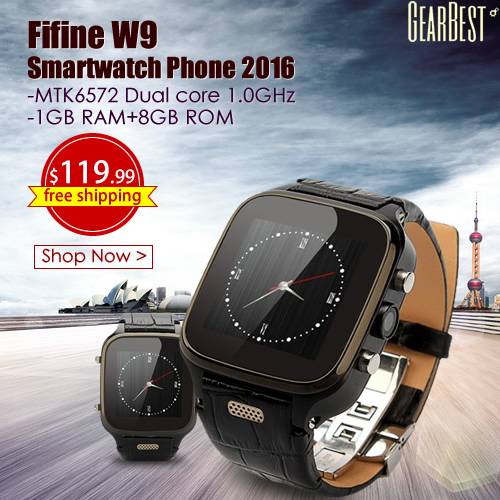 FIFINE W9 with Genuine Leather Watchband