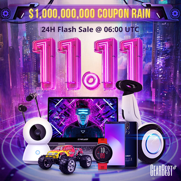 $1,000,000,000 Coupon Rains + 24 Hours Flash Sale