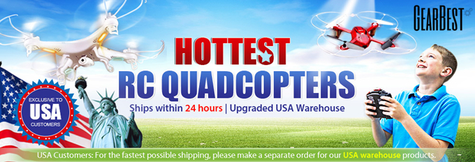 Hottest RC Quadcopters from USA Warehouse: Enjoy Free Shipping and Shipping in 24 hrs