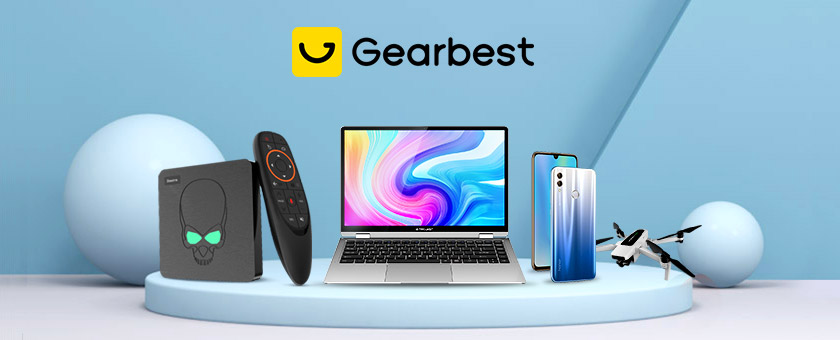 Up to 50% off with Gearbest