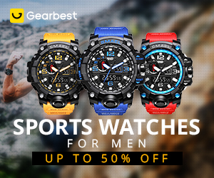 Sports Watches for Men: Up to 50% OFF