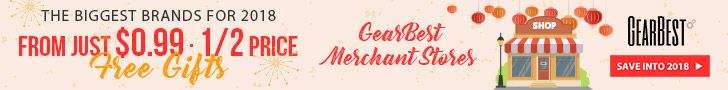 Enjoy flash sale of GearBest Merchant Store, from $0.99, and Half price! You are able to buy hot products such as TOCHIC Qi Wireless Charger Pad, rc drones.