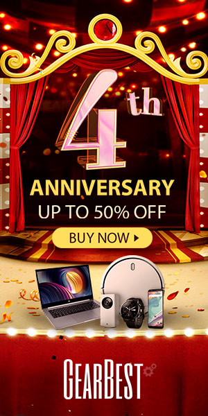 GearBest 4th Anniversary Main Event