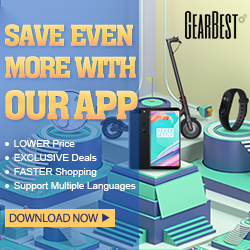 GearBest APP Download Page