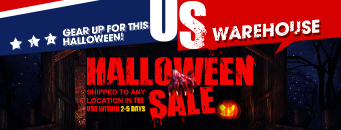 Up to 65% OFF! Gear Up for this Halloween! (US WareHouse )