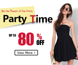 Party Time, Be the Queen of the Party, Fashion Dress UP TO 80% OFF, Free Shipping