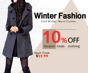 Winter Fashion Coats,Start From $25.99, Extra 10% OFF, Coupon Code: clothing ,Free Shipping
