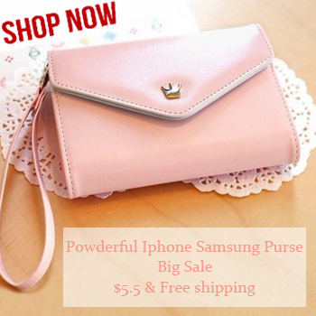 $5.5 including shipping for this Multi-function Purse