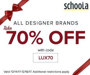 Designer brands at Schoola.com