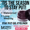 'Tis The Season to Stay Put - Mommy Makeup Stay Put Gel Eyeliner
