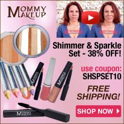 Special Offer - Mommy Makeup ShimmerSparkle Set EXTRA 10% off - expires 5/17/2014