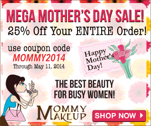 Mommy Makeup Mothers Day 2014 - 25% Off!