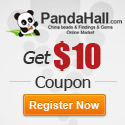 Get $10 coupon for new register, register now ! @PandaHall