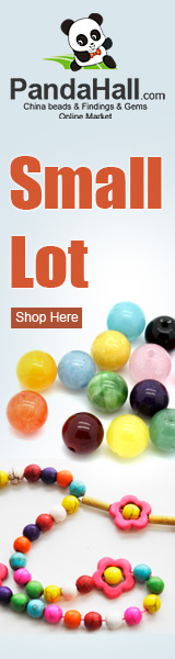 Small lot on jewelry beads, jewelry findings, buttons, tools and much more.