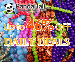 Up to 46% off daily on jewelry beads, acrylic beads, gemstone beads,rhinestone beads, etc.